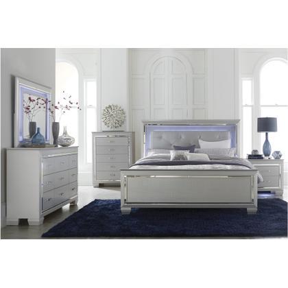 Allura - Queen Size Bed, Dresser, Mirror, and Nightstand