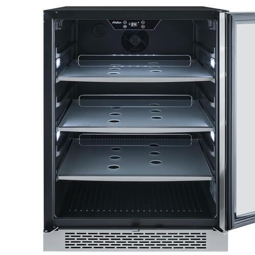 """24"""" Avallon 152 Can Built-In Beverage Cooler"""