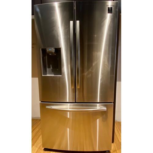 Samsung RF27T5201SR   27 cu. ft. Large Capacity 3-Door French Door Refrigerator with External Water & Ice Dispenser in Stainless Steel