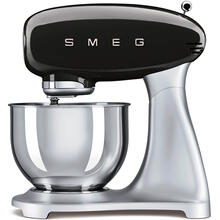 Smeg 50s Retro Style Design Aesthetic Stand Mixer, Black
