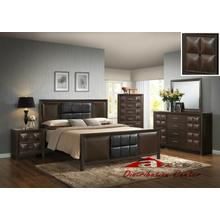 Generation Trade Furniture Rubix Brown 115300 Bedroom set Houston Texas USA Aztec Furniture