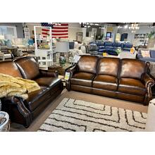 Hillsboro Bomber Jacket Leather Sofa & Loveseat