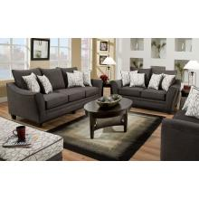 3850 Flannel Seal Loveseat Only