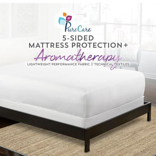 Aromatherapy 5-Sided Mattress Protector