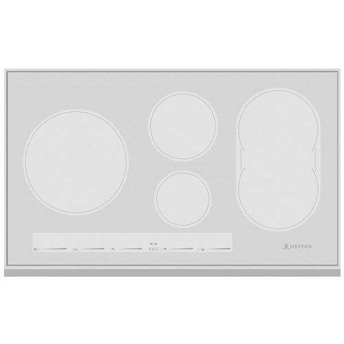 """36"""" Induction Cooktop Metallic Silver Finish"""