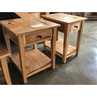 See Details - Hickory Occassional Tables