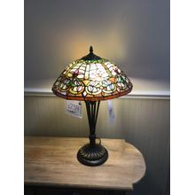 "Quoizel ""Flowing Heart Tiffany"" TF2582T Table Lamp"