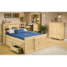 Sedona Bookcase Bed