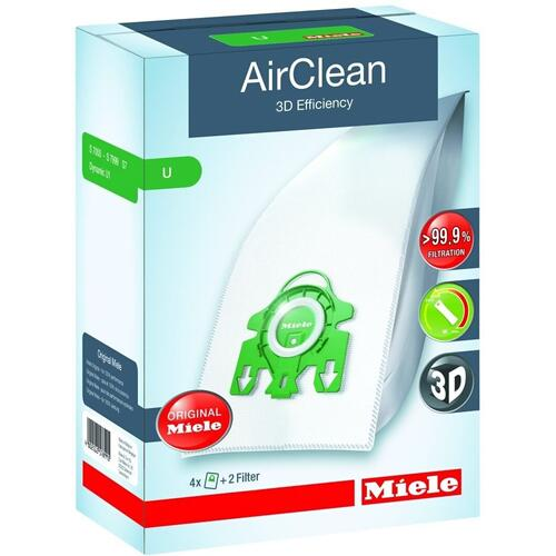 U AirClean 3D Dustbags - Showroom Model