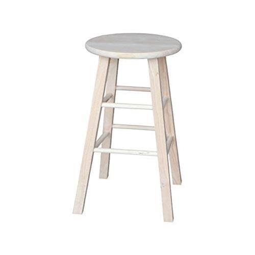 """Unfinished 30"""" Round Top Stool"""