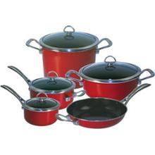 Copper Fusion Cookware Set (9 Pc.)