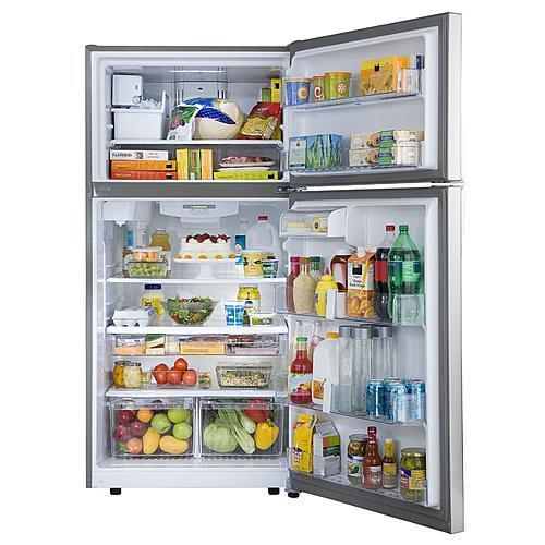 23.8 cu. ft. Top-Freezer Refrigerator w/ Internal Water Dispenser - Stainless