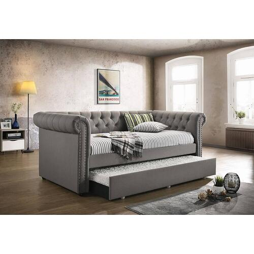 Dove Gray Daybed and Trundle