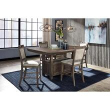 See Details - Johurst 5 Piece Counter Height Dining Set