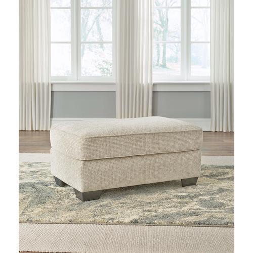 Ashley Furniture - Haisley Ivory Ottoman
