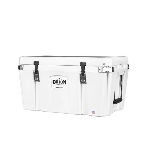 Orion Coolers - Easily transported by canoe, raft, truck, or even small planes, with capacity to hold quartered big game, larger fish or food for a week, the 65 is the right size for long adventures.