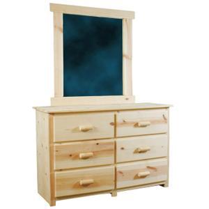 FP523  6-Drawer Dresser