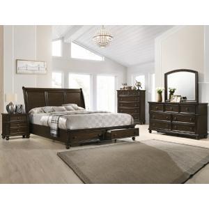 Crown Mark B6077 Lara King Bedroom