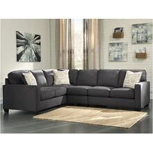 Alenya II Sectional Charcoal Left
