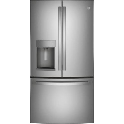 Treviño Appliance - GE French Door Refrigerator in Fingerprint Resistant Stainless Steel