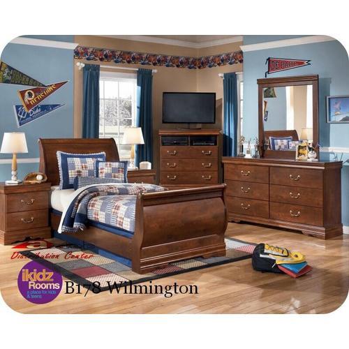 Ashley Furniture - Ashley B178 Wilmington Bedroom set Houston Texas USA Aztec Furniture