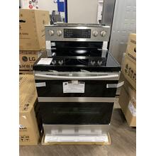 5.9 cu. ft. Freestanding Electric Range with Flex Duo™ & Dual Door in Stainless Steel **OPEN BOX ITEM** West Des Moines Location
