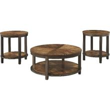 ASHLEY T411-13 Occasional Table Set (3/CN)