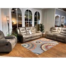 Jamestown Smoke Reclining Sofa, Loveseat and FREE Recliner