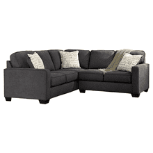 Alenya - Charcoal - 2-Piece Sectional