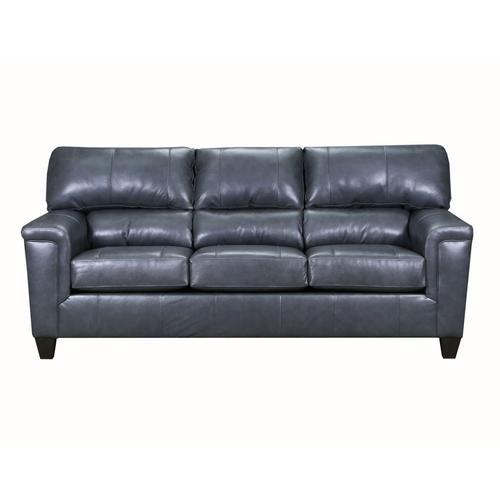 Lane Home Furnishings - LANE 2038-03 Soft Touch Leather Fog Sofa