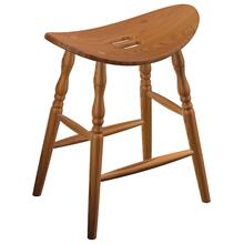 Harrison Amish Custom Barstool / Counter Stool