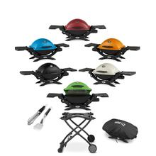 Portable Grilling with a Pop of Color