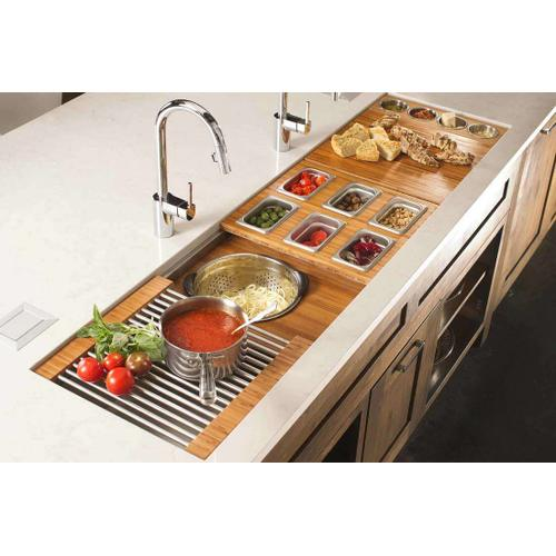 The Galley Workstation - Ideal Workstation 6 Single Bowl