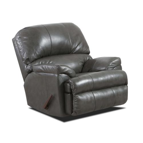 LANE 2038-03-02-4010-19G Soft Touch Leather Fog Sofa, Loveseat & Recliner Group