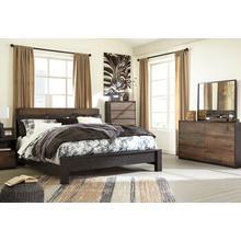 Windlore Qn Bed, Dresser, Mirror and Nightstand