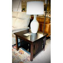 See Details - American Mission Style Birch Square End Stand        (T990-AM#19,62339)