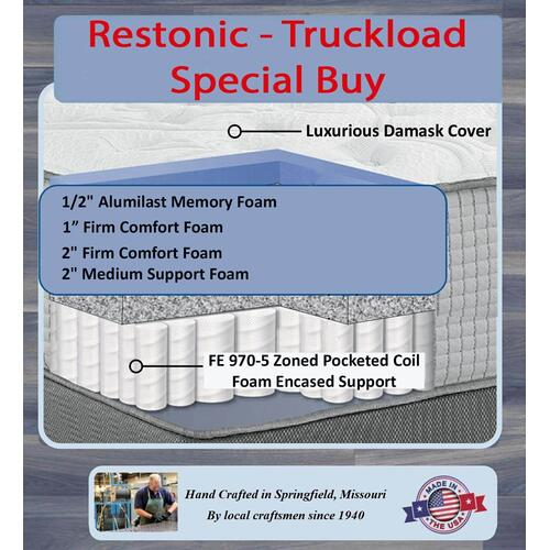 NHS - Restonic Manor Crest Firm - Truckload Special Buy - Mix Match Covers