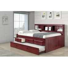 Full Roomsaver Bed with Drawers and Trundle