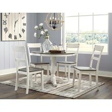 NeilinNelling - Two-tone - 5 Pc. - Round Table & 4 Side Chairs