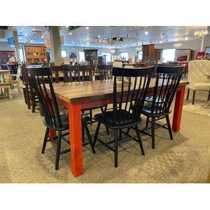 Custom Barnwood Table 38x72
