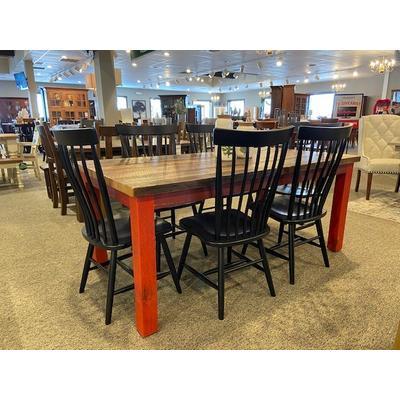 See Details - Custom Barnwood Table 38x72