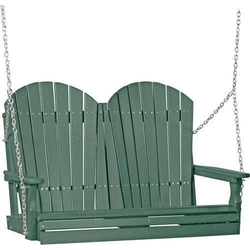 Adirondack Swing 4' Green