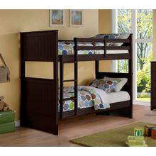 See Details - TWIN/TWIN ESPRESSO BUNKBED