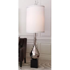 Twig Bulb Floor Lamp in Nickel