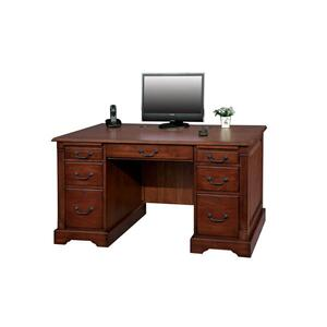 "Country Cherry 57"" Flat Top Desk"