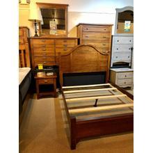 Vaughan-Bassett Furniture- Queen Bed, Nightstand, Dresser, Mirror, and Chest