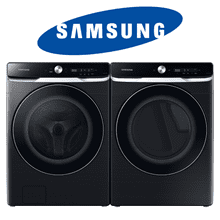 See Details - Samsung Front-Load Pair In Brushed Black