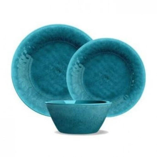 Potters Reactive Bowl Teal Heavy Mold
