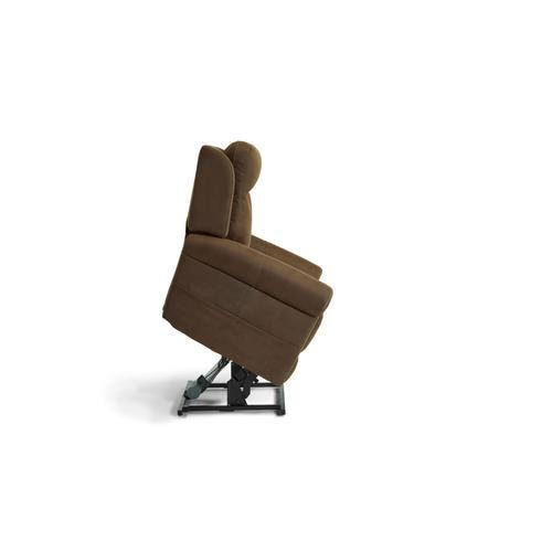 Stewart Power Lift Recliner with Power Lumbar and Headrest