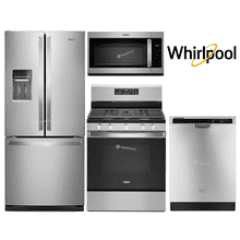 Whirlpool Package with 30'' Wide Refrigerator